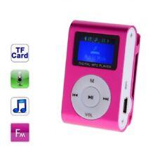 Lecteur MP3 à carte mémoire - clip ceinture - Ecran LCD - Radio FM