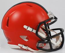 CLEVELAND BROWNS NFL Riddell Speed Mini Football Helmet