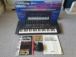 YAMAHA Portasound PSS-580 Keyboard Synth FM Programmable