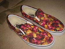 brand new vans shoes size 6.5 eur 40 ladies girls floral designer flat