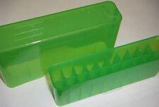 "Mtm Case Gardâ""¢ J20 Series Sliptop Ammo Boxes J20 J-20-M-16 Cl Green 22-250 ect"