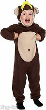 Henbrandt Toddler Monkey Fancy Dress Costume Age 3 Years