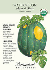 Moon & Stars Watermelon Seeds - 900 mg - Organic - Botanical Interests
