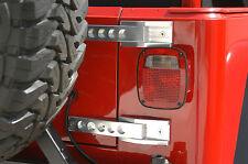 Jeep Wrangler Billet Aluminum Tailgate Hinges, clear anodize TJ Rubicon LJ Sport