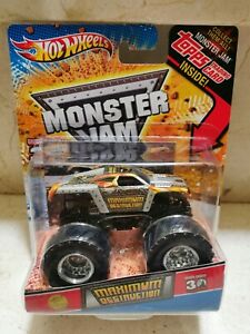 Hot Wheels MONSTER JAM MAXIMUM DESTRUCTION 1ST EDITION EDIT LIMIT 30 ANIVERSARIO