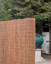 Brushwood Garden Screening Fencing Rolls 1.2M Tall and 3.8M Long