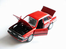 "Audi 90 / B2 Typ 81/85 ""Quattro"" in rot rouge rosso red, Schabak in 1:43!"