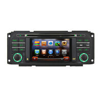 US Autoradio DVD GPS Satnav Stereo For Chrysler 300c Jeep Grand Cherokee Dodge