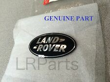 LAND ROVER DISCOVERY 2 BLACK ON SILVER FRONT GRILLE BADGE GENUINE PART DAG500160