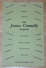 JAMES CONNOLLY SONGBOOK Ireland Irish Songs Communist Socialism Citizen Army
