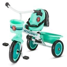 Schwinn Easy-Steer Tricycle with Push/Steer Handle, ages 2 - 4, Teal