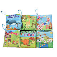 Cloth Fabric Cognize Book for Kid Baby Intelligence development Educational  LJ