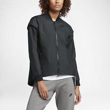 Womens *NEW* Nike Tech woven jacket 2 in 1 removable sleeves S Small 830295