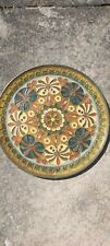 More details for vintage moroccan brass plate