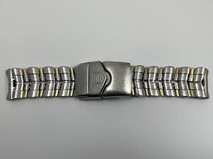 Tag Heuer 6000 Two-Tone SS/18K Watch band - BD0678-J1A - Parts or Repair