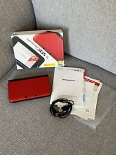Nintendo 3ds Xl Red - Boxed - Very Good Condition