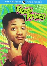 THE FRESH PRINCE OF BEL AIR - SEASON 5 (Will Smith) DVD - UK Compatible -sealed