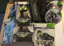 "Xbox 360 Tom Clancy s Splinter Cell Blacklist The Ultimatum Edition inc ""Uhr"