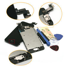LCD Screen Digitizer Assembly Replacement&Home Camera For iPhone 5S+Free Gift