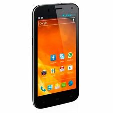 Teléfonos móviles libres negra de doble cuatro núcleos con conexión Bluetooth