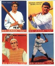 1933 Goudey Reprint Baseball Card Set Ruth Gehrig Ott