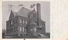 Antique POSTCARD c1905 High School BRISTOL, CT CONN. 14490