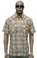 50 ies 60 er Rockabilly Psychobilly Holzfäller Karo Kariertes HEMD Shirt L