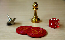 ==FULL SET== Inception Totems. Spinning Top, Bishop, Chips, and Die!