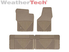 WeatherTech All-Weather Floor Mats - Ford Super Duty Ext. Cab - 1999-2007 - Tan