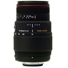 Sigma 70-300mm f4-5.6 APO DG Macro Telephoto Zoom Lens For Nikon