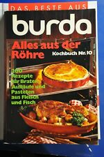 Burda Kochbuch Nr. 10 - Alles aus der Röhre