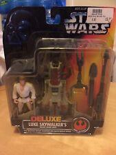 Star Wars Deluxe Luke Skywalker's desierto Sport bote Kenner 1996