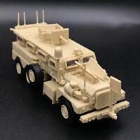 1/72 US Army Cougar 6x6 Mrap Vehicle American Modern Military Plastic Model ☍