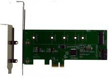 M-ware® PCI-E 1x M.2 NGFF SSD + SATA3 III Raid Controller 88SE9130 ID14985