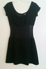 "Plein Sud Sheer Skater Dress sz S RARE Bust 30""e"