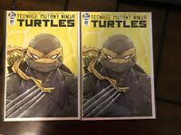 TEENAGE MUTANT NINJA TURTLES #97 DIALYNAS YELLOW DAY STORM VARIANT 1:750
