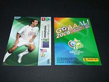 LANDON DONOVAN USA SOCCER PANINI CARD FOOTBALL GERMANY 2006 WM FIFA WORLD CUP