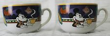 2 Disney Minnie Mouse Soup Mug Over sized Coffee Veggies Latin/Euro Style