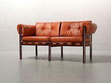 2-Sitzer-Sofa von Arne Norell 1968 für Coja Leder 2-seater-sofa Vintage 19% MwSt