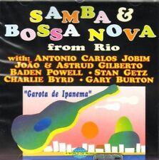 Samba & Bossa Nova (1992) Joao Gilberto, Baden Powell, Stan Getz, Charlie.. [CD]