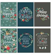 Cavepop Holiday Cards with Envelopes - 36 Pack Assortment