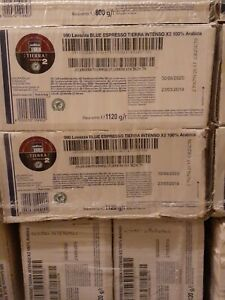 2-Box Lavazza BLUE Espresso(990 ARIBICA 2X)Coffee 100ct.×2 Varies Exp.09/20