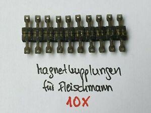 Unbekannt Spur N 10x Paar Magnetkupplungen f. Fleischmann Pin (Gebraucht) x20