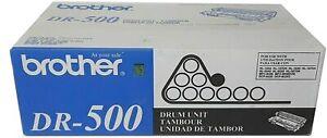 Genuine OEM DR-500 Drum Unit New Sealed Box