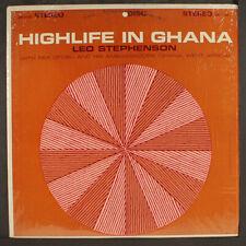 """LEO  STEPHENSON: highlife in ghana DISC  12"""" LP 33 RPM"""