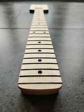 More details for stratocaster paddle guitar neck grade a canadian maple - factory second