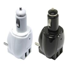 MaximalPower 2-PORT USB DC Cigarette CAR CHARGER + Home Wall AC Adapter Plug