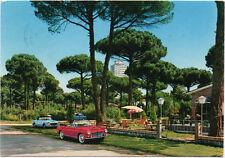 CERVIA – MILANO MARITTIMA – LA PINETA – CARTOLINA FIAT 1200 CABRIOLET AUTOMOBILI