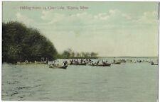 (0816) 1910 P/C WASECA, MINN FISHING SCENE ON CLEAR LAKE