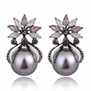 YouBella Jewellery Earrings for women Crystal Stud Earrings for Girls and Women